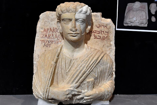 After being saved by modern technology, busts ruined in Palmyra will return to Syria