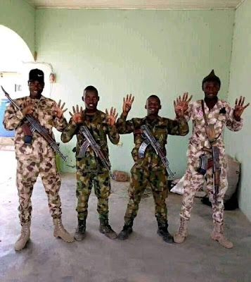 Army Vows To Investigate And Punish Soldiers Making APC Signs