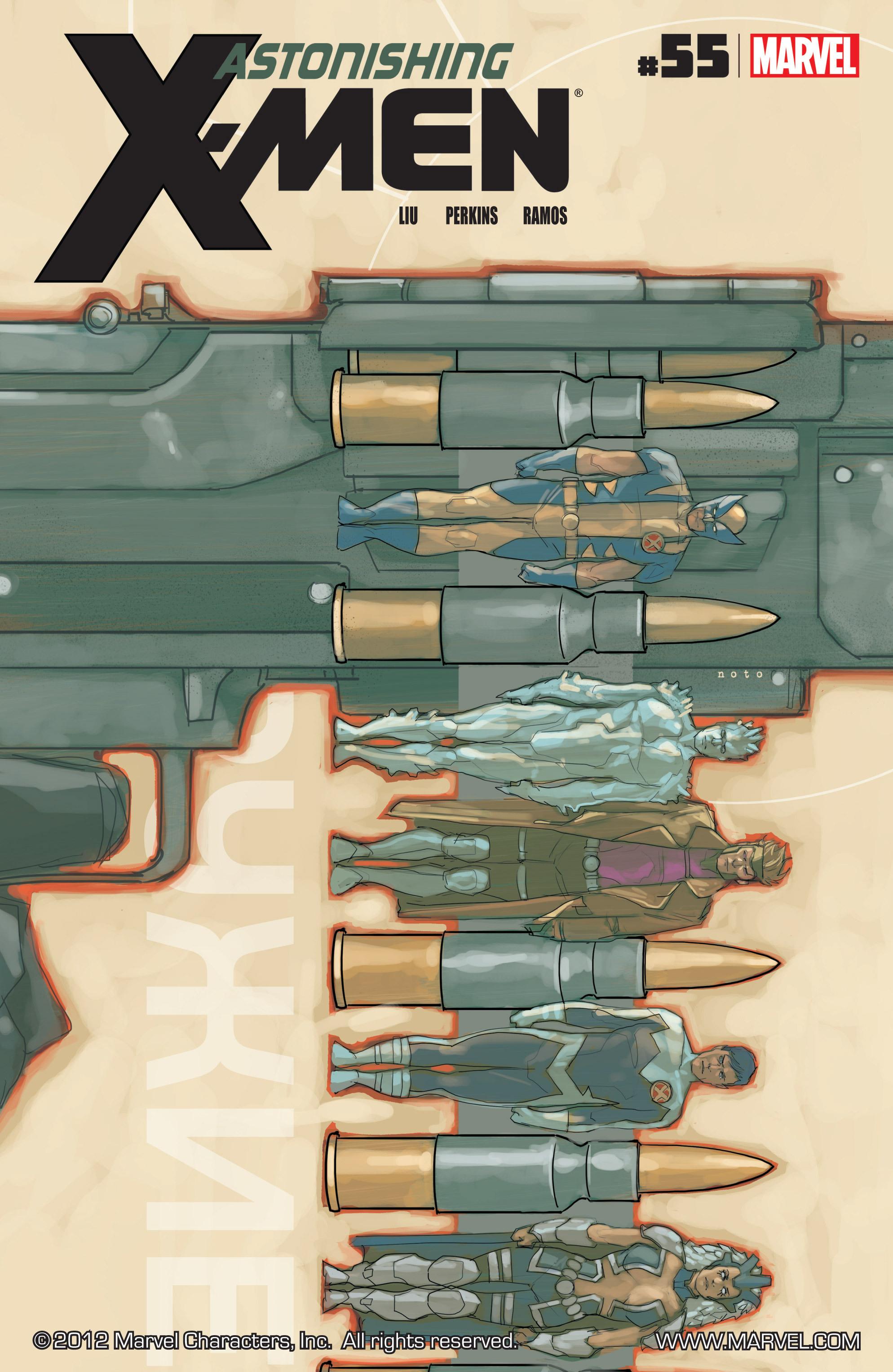Read online Astonishing X-Men (2004) comic -  Issue #55 - 1