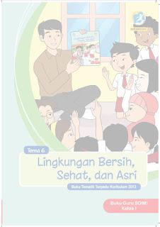 Buku Tematik Kelas 1 Tema 6 Pegangan Guru