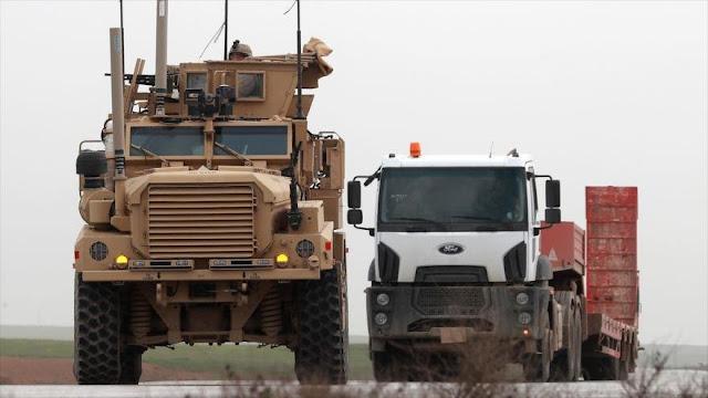 EEUU envió 1130 camiones de armas a Siria tras anuncio de retirada