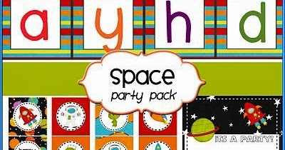 Cute Space: Free Printable Party Kit. | Oh My Fiesta! in ... - photo #36