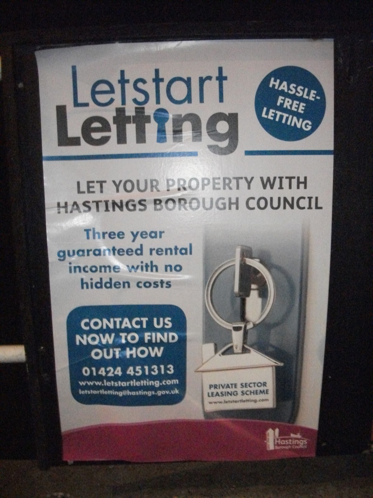 Steve on Hastings: Hastings Social Lettings Agency