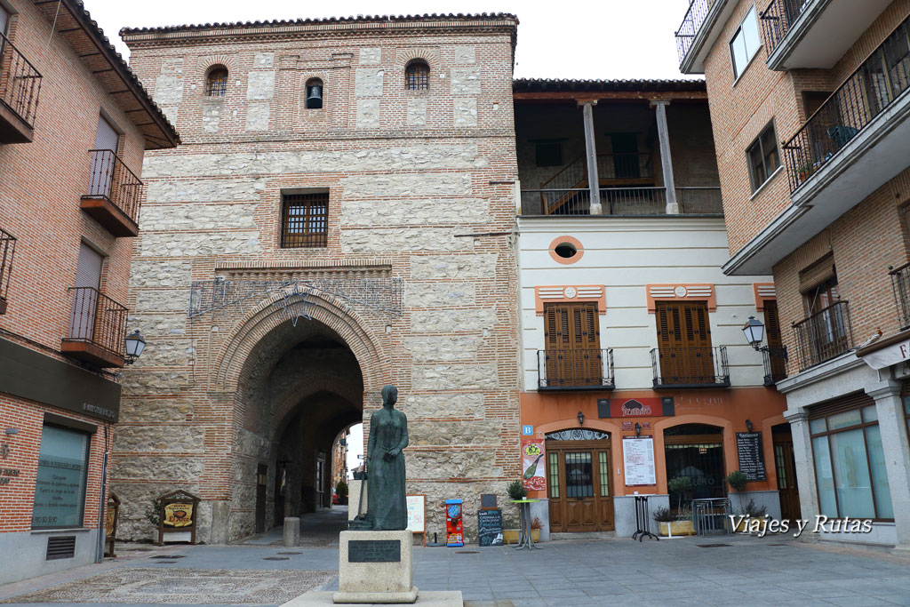 Arco de Alcocer, Arévalo