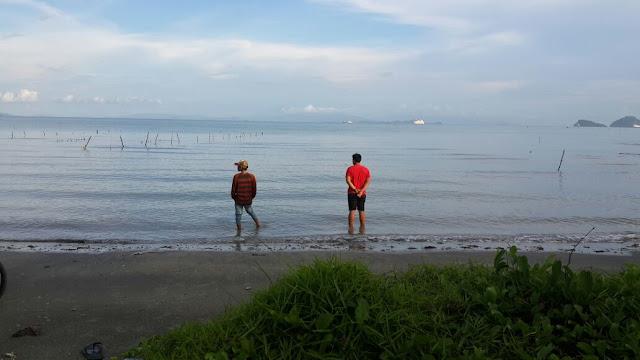 View pantai alami yang sangat indah