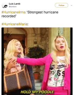 Hurricane Maria Memes