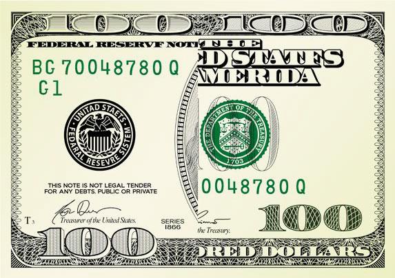 100 DOLLAR CARD