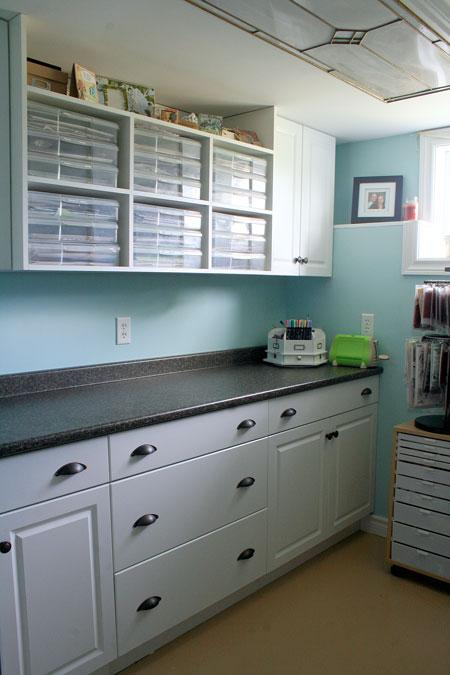 10x10 Room Layout Craft: Lily Bee: Studio Peek: Julia Stainton