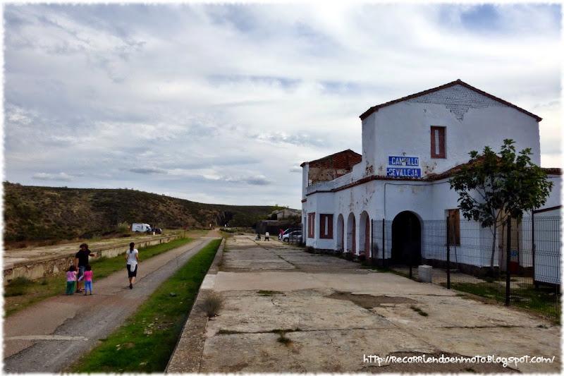 Estación Campillo/Sevilleja Via verde la Jara