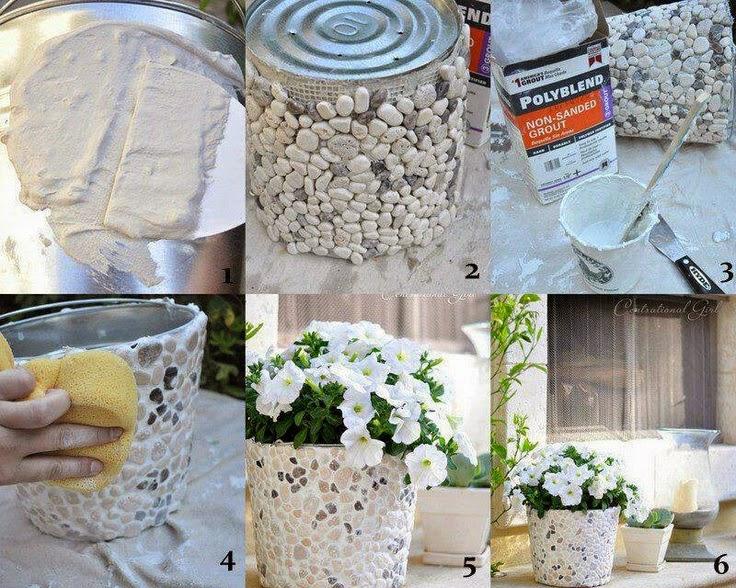 Flores en tu ensalada macetero personalizado diy - Maceteros grandes ikea ...
