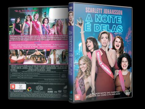Capa DVD A Noite é Delas
