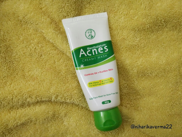 acnes oil free