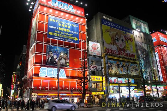 Sega Club y Sofmap en Akihabara