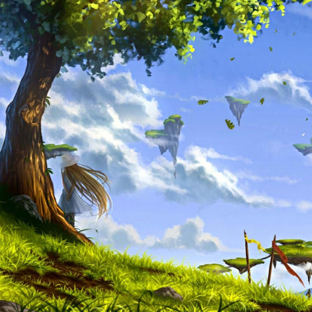 Flying Islands Wallpaper Engine