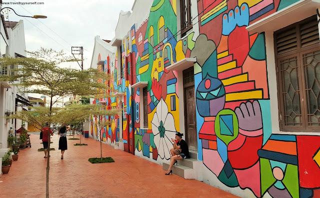 Street Arts in Malacca