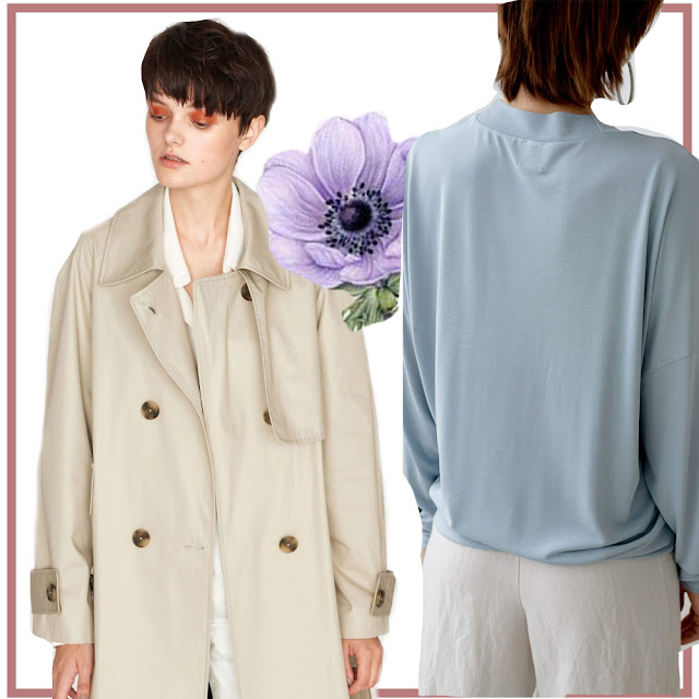 Trench coat from Elementy