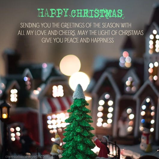 Christmas Messages, Quotes, SMS, Greetings, Images and Pictures