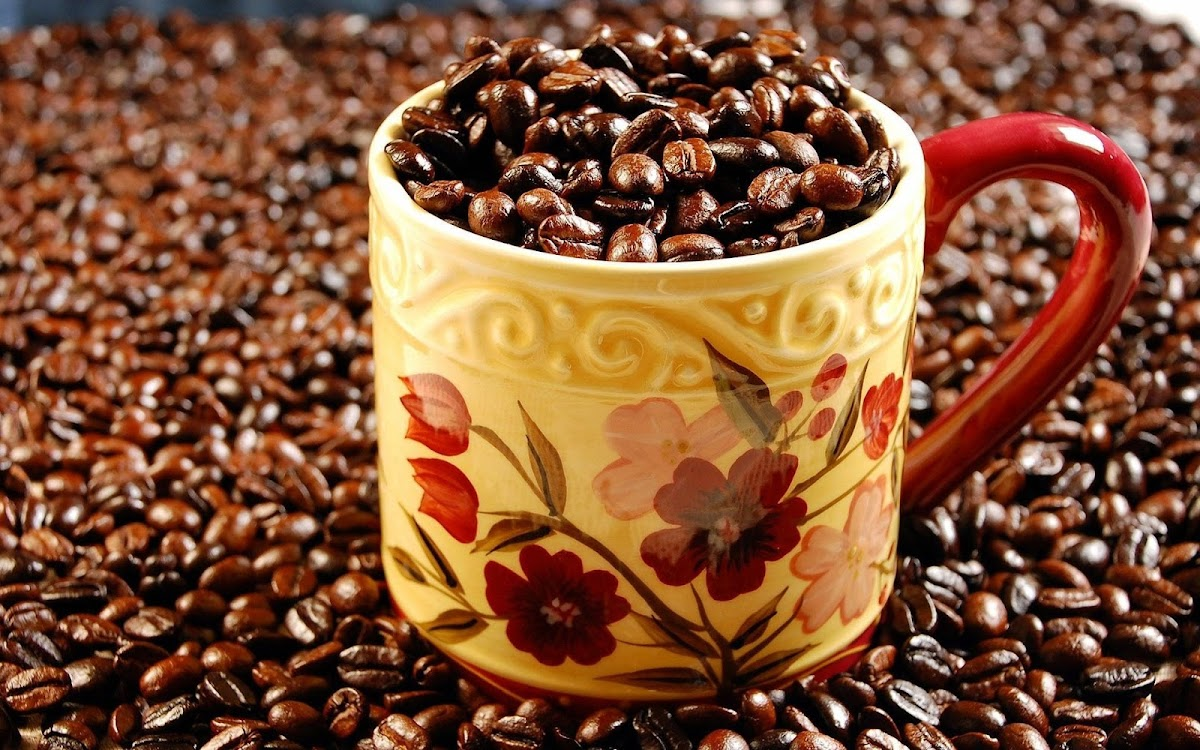 Coffee Beans Widescreen HD Wallpaper 10