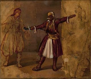 Τσόκος Δ.«Ο Κολοκοτρώνης ορκίζει τον γιο του»