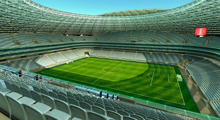 Samara Arena, Stadion Piala Dunia 2018