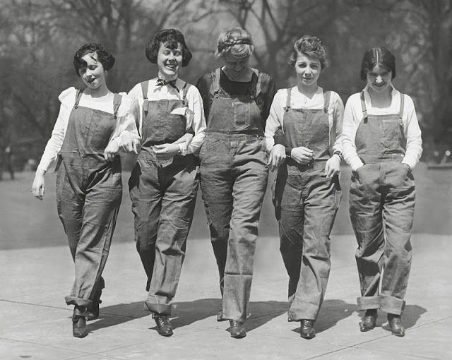 Image result for overalls 1940s
