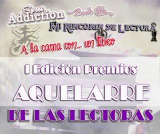II Premios Aquelarre. Edición Lectoras