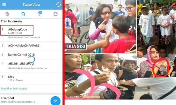 Pasca Diungkap Mustofa Nahra di tvOne, #GelangKode Jadi Trending Topik di Twitter Indonesia