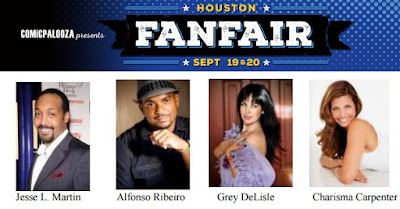 Comicpalooza's Houston FanFair Debuts with The Flash's Jesse L. Martin's 1st US Convention Appearance