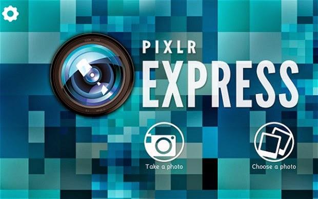 Download Aplikasi Pixlr Express via Google Play Store