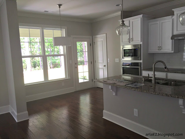 white craftsman style kitchen