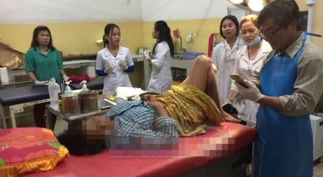 Pria Ini Hajar Dokter Hingga Berdarah Karena Cemburu Liat Dokter Pegang Perut Istrinya
