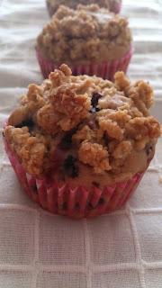muffins avena moras zarzamoras streusel magdalenas caseras tradicionales desayuno merienda postre jugosos tiernos saludables cuca horno otoño receta