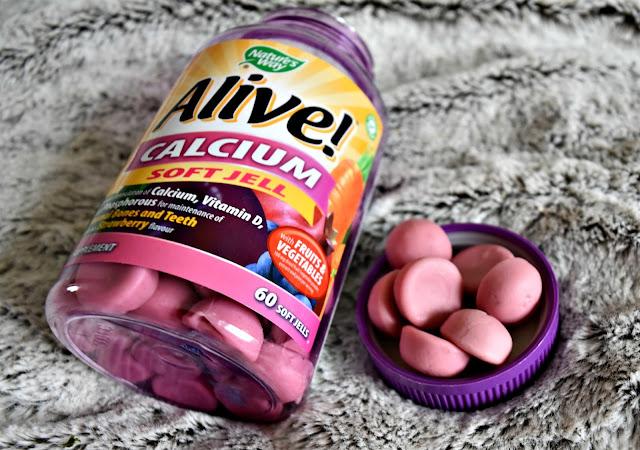 Alive! Calcium Soft Jells