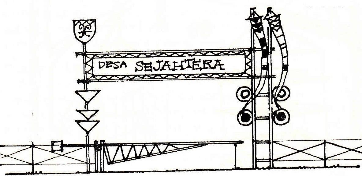 Desain Pagar Pramuka
