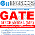 Mechanical Engineering ME GATE Material PDF Download; Questions and Answers with solutions, including previous solved papers with explanations