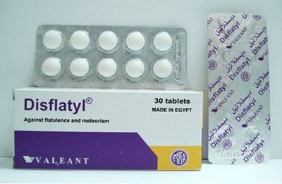 سعر ودواعى إستعمال ديسفلاتيل Gisflatyl أقراص لعلاج إضطرابات الهضم