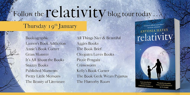 """Blog Tour: """"Relativity"""" by Antonia Hayes"""