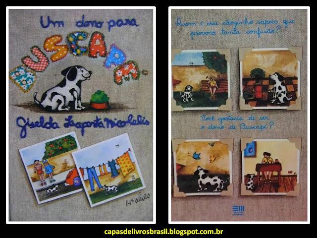 Um dono para Buscapé. Giselda Laporta Nicolelis. Editora Moderna. Edu. Carlos Eduardo Salgueirosa de Andrade. Capa de Livro. Book Cover.