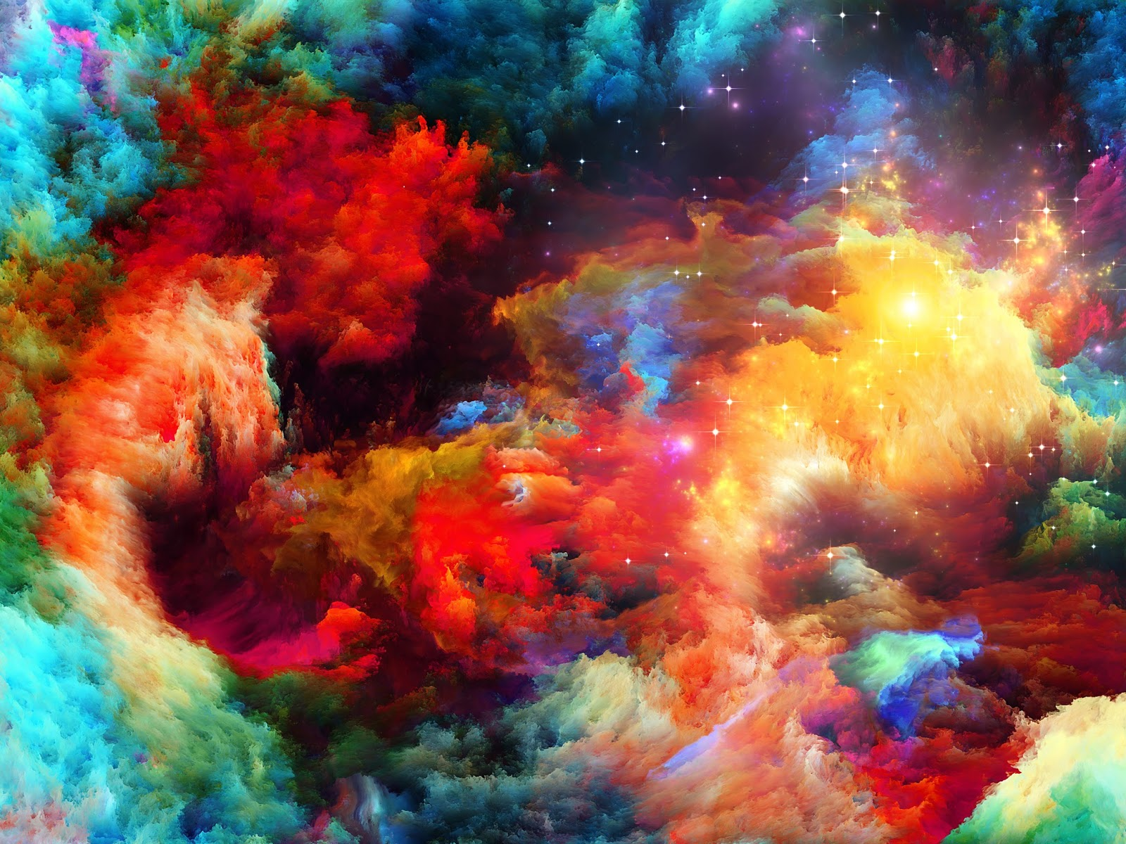 colourful fantasy cloud backgrounds | naveengfx