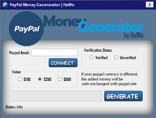 Paypal Money Generator 2016