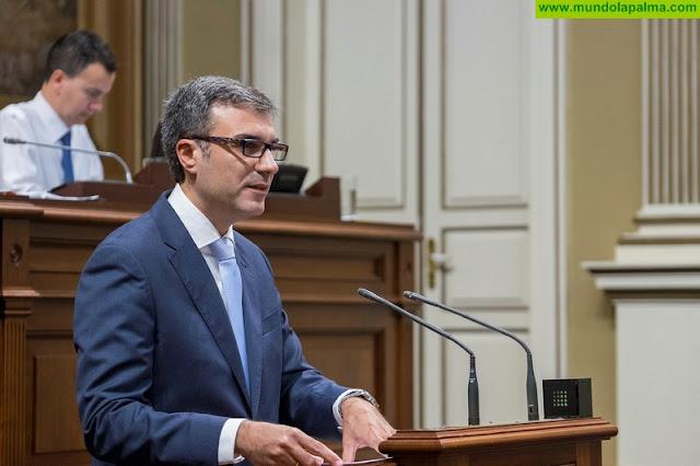 """Zacarías Gómez:  """"El Diputado del Común no se toca, se queda en La Palma, pese a quién pese"""""""
