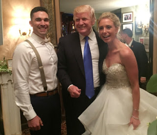 Donald Trump Interupts A Wedding At The Trump National Golf Club In New Jersey 3