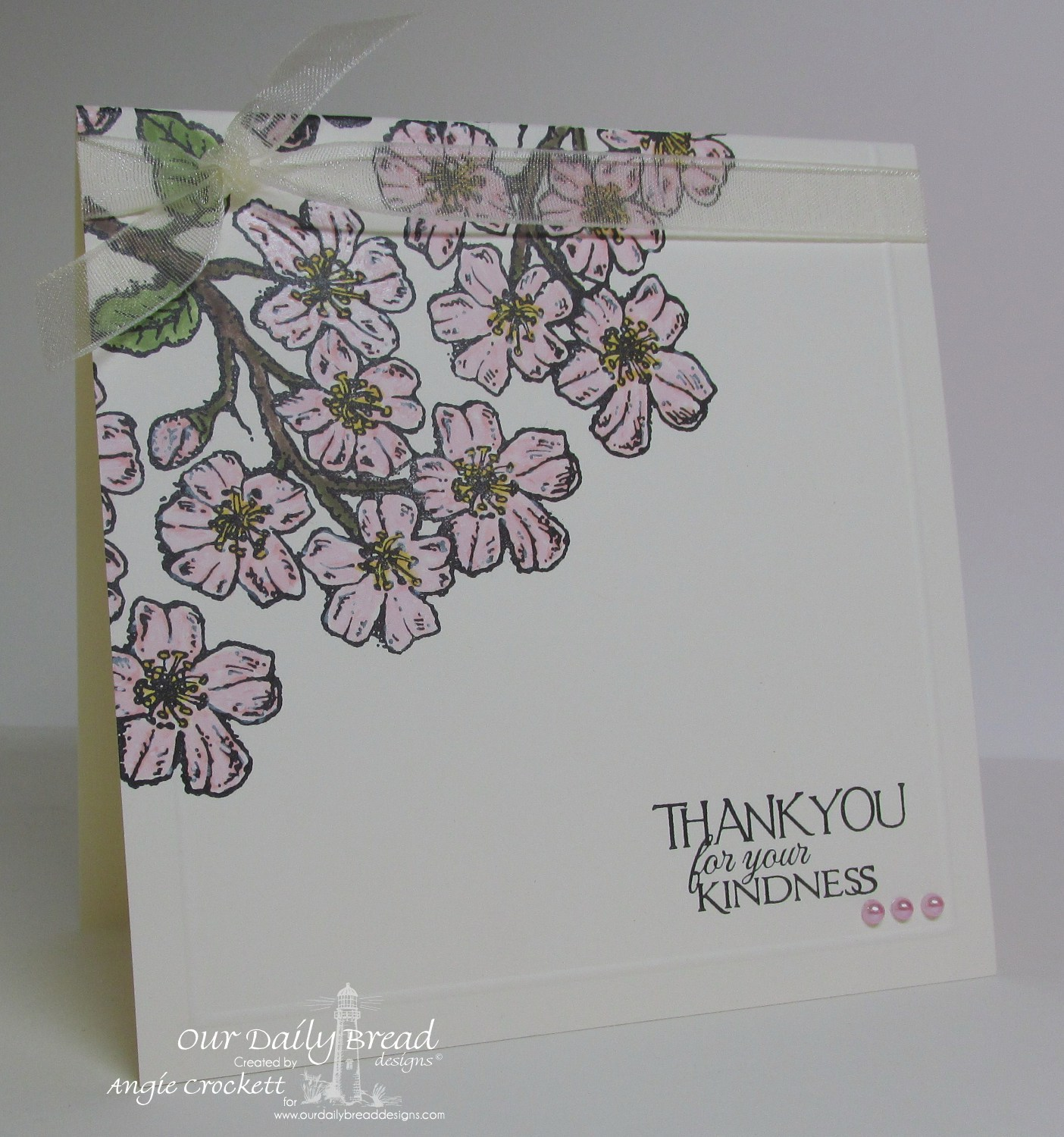 Stamps - Our Daily Bread Designs Cherry Blossom