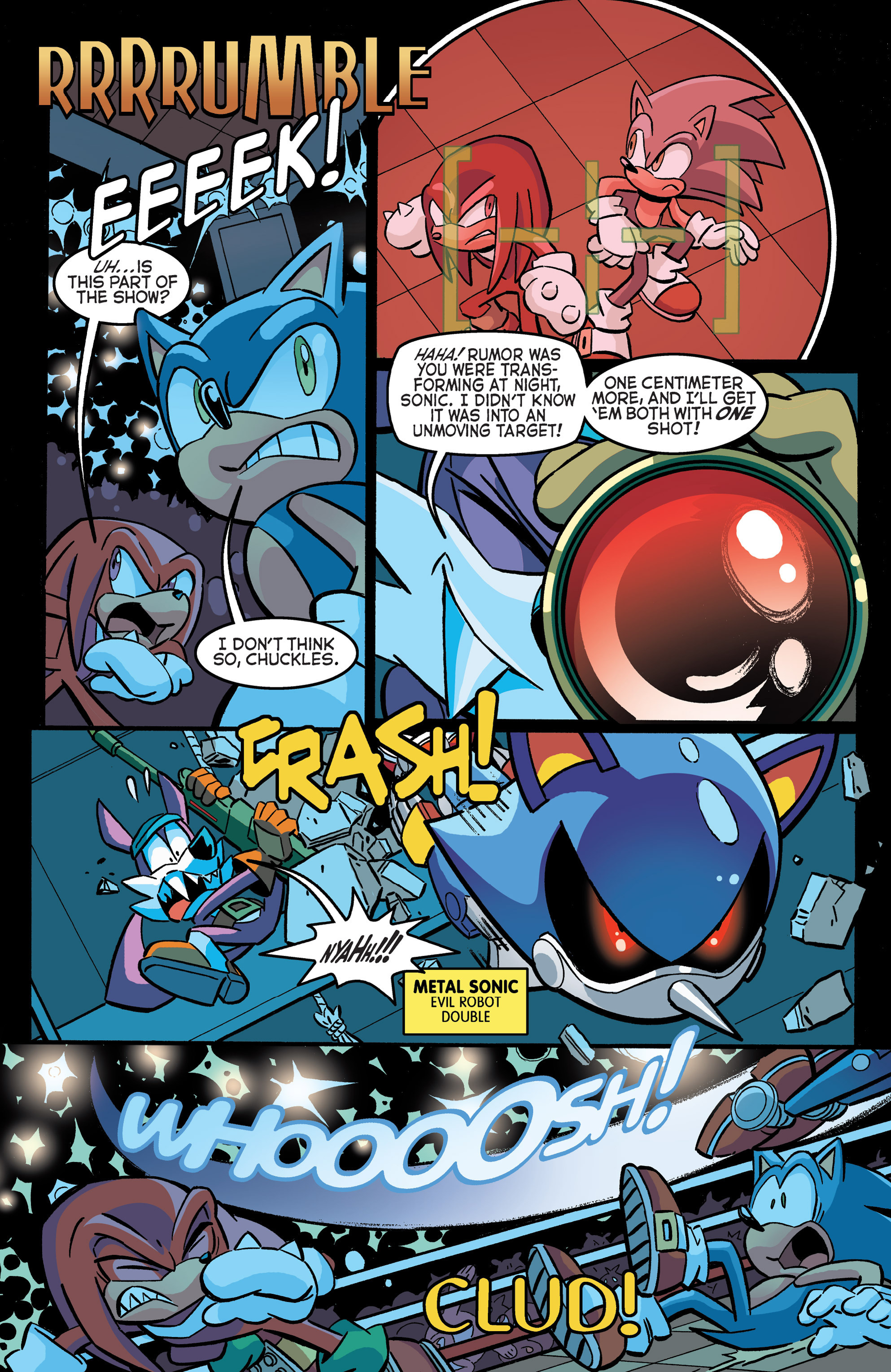 Read online Sonic The Hedgehog comic -  Issue #271 - 11