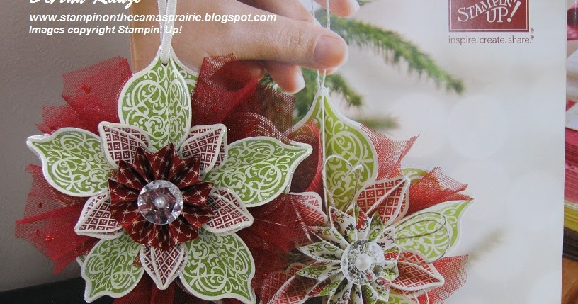 Stampin' on the Prairie: Holiday Catalog Ornament