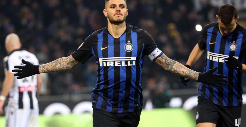 Calcio Serie A: Inter Udinese decisa da un calcio di rigore di Icardi.