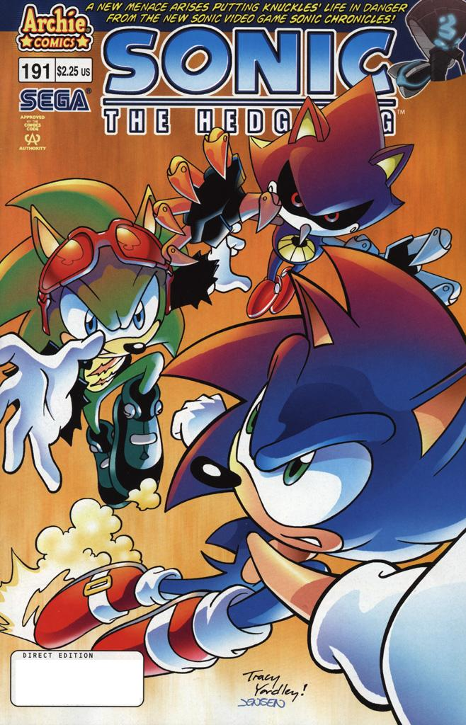 Read online Sonic The Hedgehog comic -  Issue #191 - 1