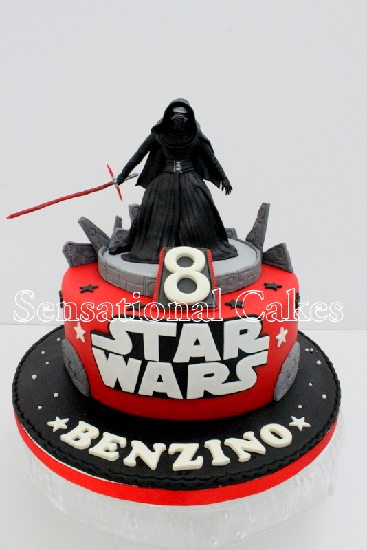 The Sensational Cakes Best Kylo Star Wars Cake Ever Singaore