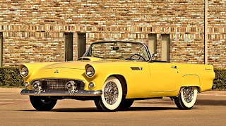 1955 Ford Thunderbird Convertible Front Left