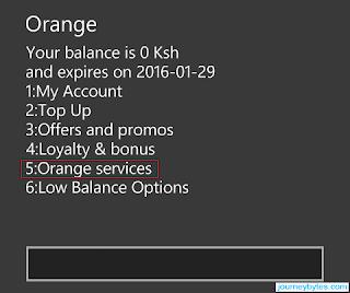 orange services